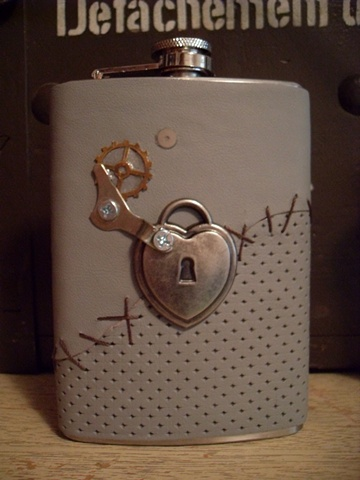 Sewn Back Up Flask