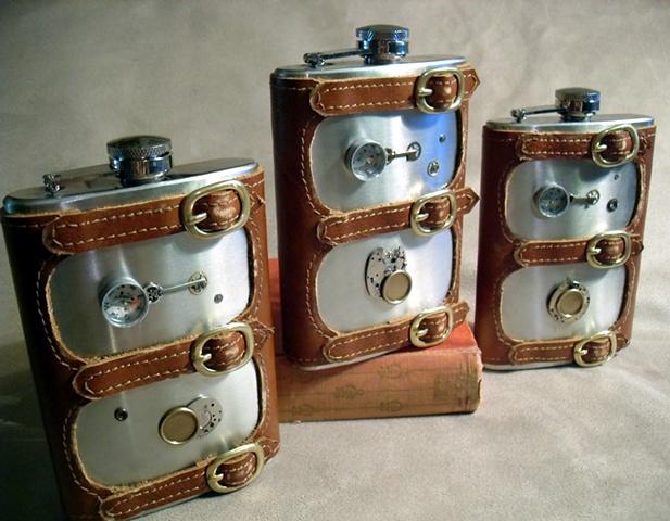 Groomsmen Flask Set