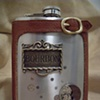 Bourbon in the Moonlight Flask