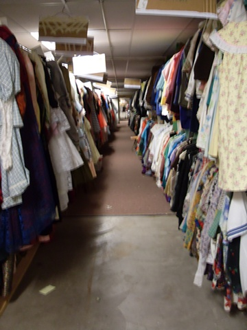 UWEC Costume Shop Reorganization