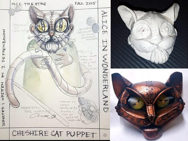 Cheshire Cat Process Images