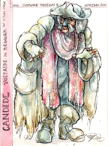 Candide, Beggar with a Metal Nose