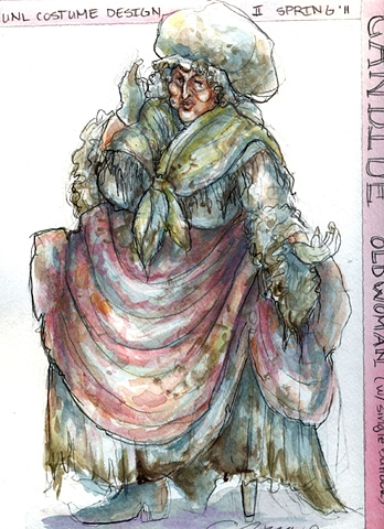 Candide, Old Woman