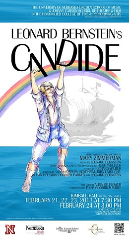 Candide, Regional Premiere by Mary Zimmerman