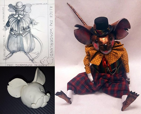 Dormouse Puppet Process Images