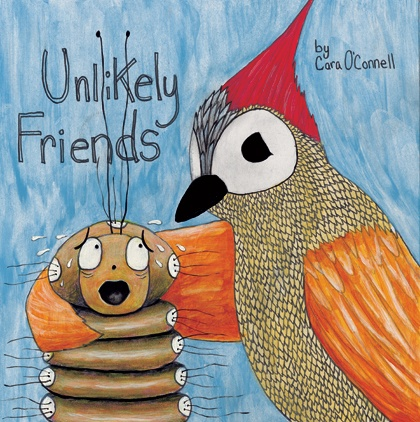"Book Cover for ""Unlikey Friends"""