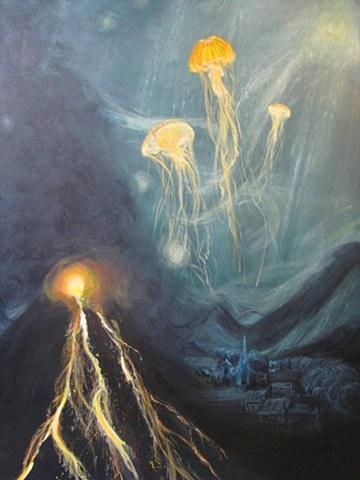 Submersed Starry Night