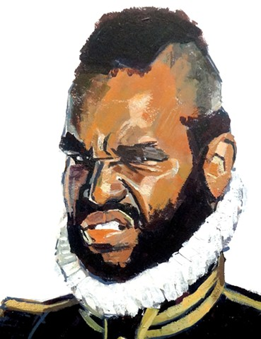 Mr-T as Othello for 'Pulp The Classics'