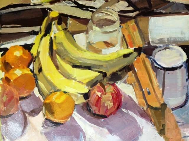 Fruit & clutter