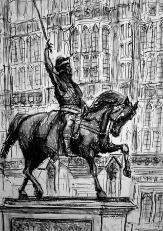Lionheart Statue, Westminster