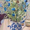 Cornflowers, Mirror & Jug