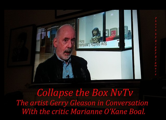 Collapse the Box: Gerry Gleason interview Northern Visions NvTv.
