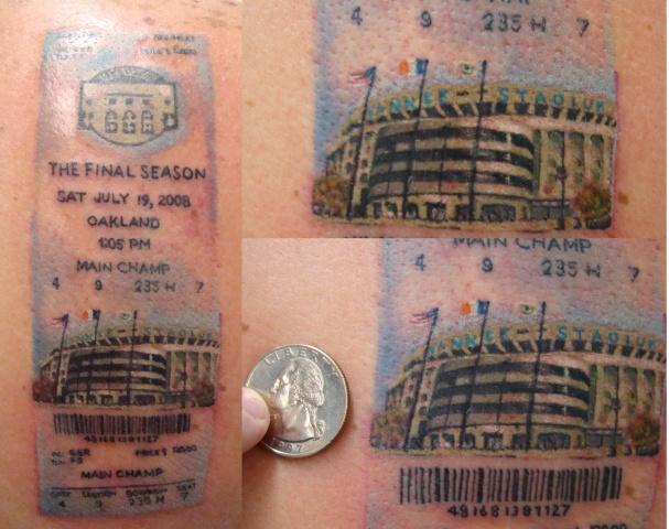 Rusty NY ticket
