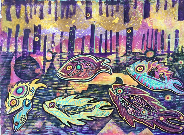 Fantasy Native American Fish