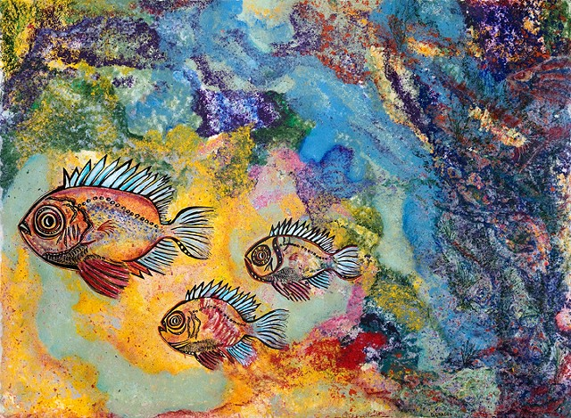 coral reef fish by Dorothy Graden