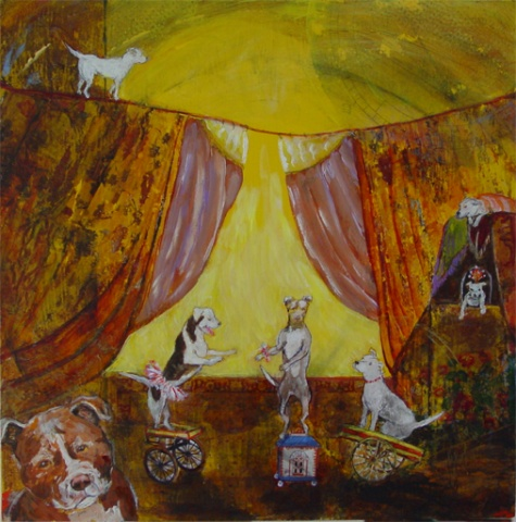 Ginger's Pit Bull Circus