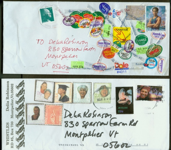 Mail Art Stamps