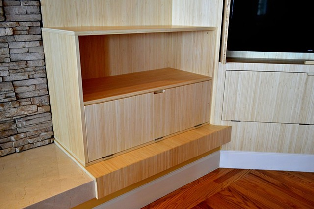 Bamboo TV Cabinet