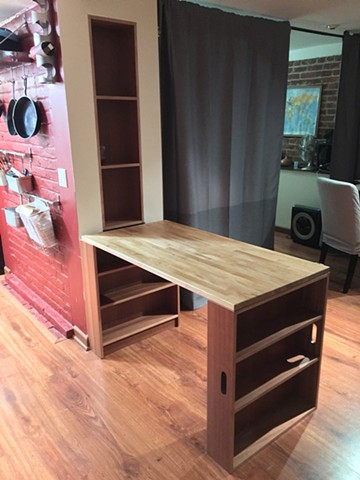 Studio fold out table