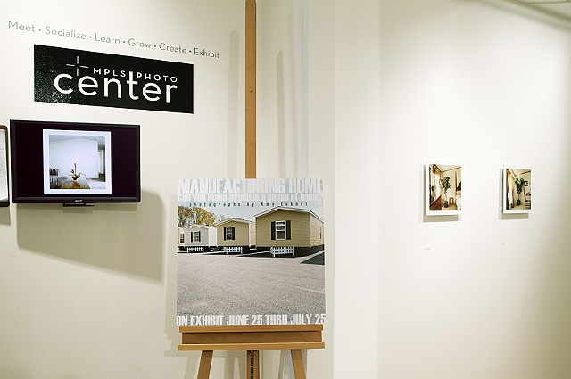 exhibition view, Manufacturing Home, Minneapolis Photo Center, artwork © Amy Eckert www.amyeckertphoto.com