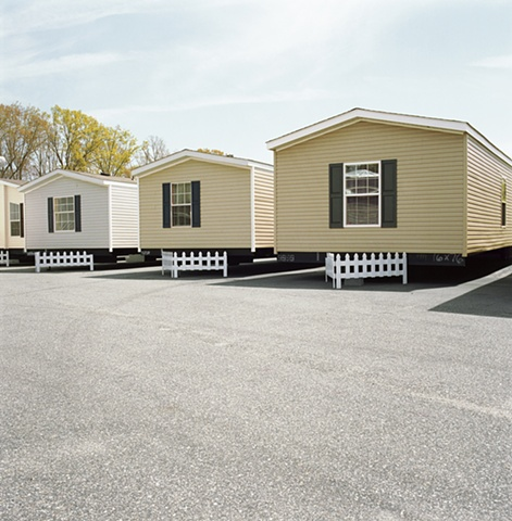 House trailers for sale, manufactured display home, © Amy Eckert www.amyeckertphoto.com