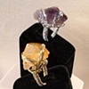Citrine and Amethyst rings  Private Collection