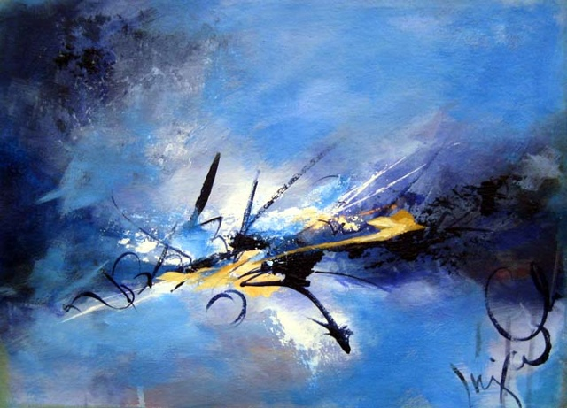 oil painting, abstract