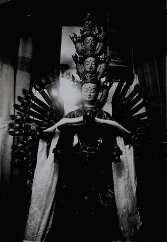 Avalokiteshvara  Black Sect Tantric Buddhism Yun Lin Temple Berkeley, California