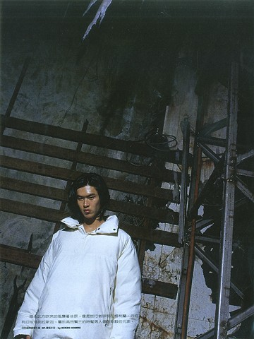 fashion photography by Junko Theresa Mikuriya taiwan analogue film ice