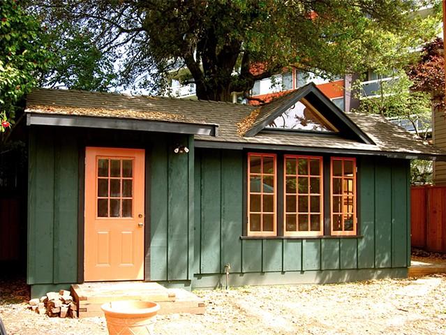 Rustic Garden Studios - Backyard Art studio and storage room