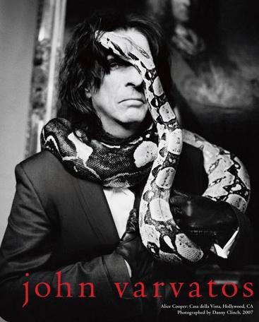 ALICE COOPER  for John Varvatos