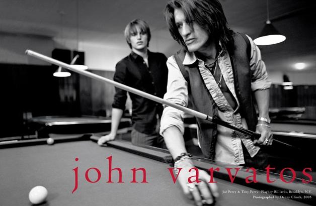JOE & TONY PERRY  for John Varvatos