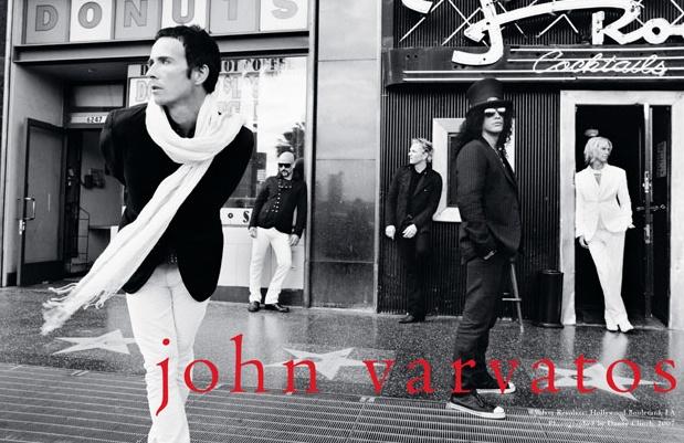 VELVET REVOLVER  for John Varvatos