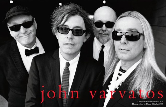 CHEAP TRICK  for John Varvatos