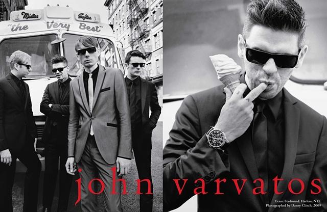 FRANZ FERDINAND  for John Varvatos