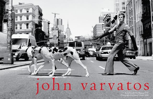 PERRY FARRELL  for John Varvatos