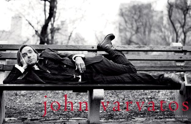 IGGY POP  for John Varvatos