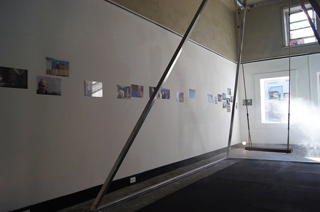 With The Pressure Of Air  & Atmospheric Observers (photographs) Atmospheric Relations 2011