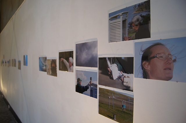 Atmospheric Observers (photographs) installation shot