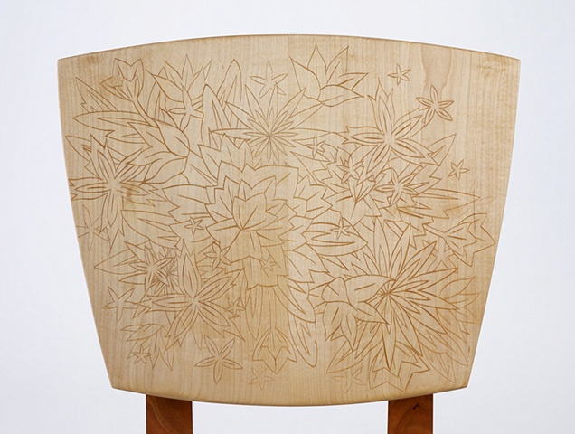 Lily Chair (back detail)