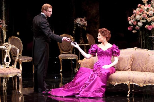 AN IDEAL HUSBAND Shakespeare Theatre Company Robert Perdziola, costume designer  Keith Baxter, director photo by Scott Suchman