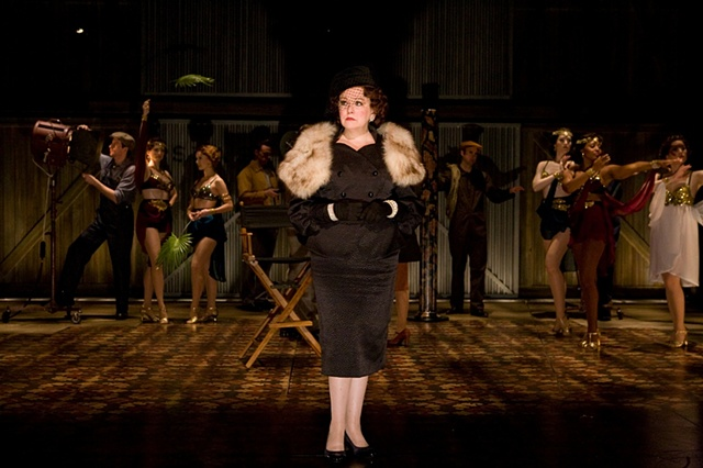 SUNSET BOULEVARD Signature Theatre/ Kathleen Geldard, costume designer photo by Chris Mueller