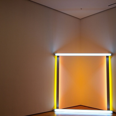 Dan Flavin, Love Letter to MoMA