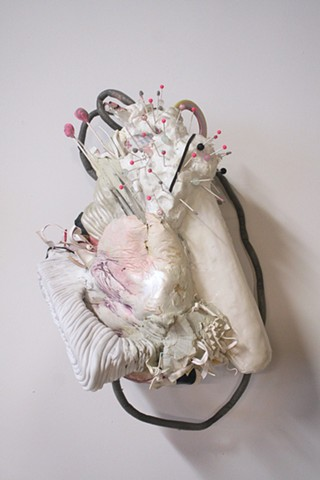 Lauren Carter artist, sculpture, chicago artist, mixed media, art