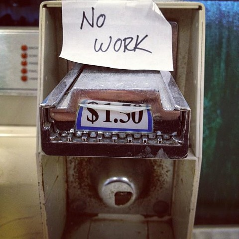 No Work, Houston,  Texas  2012