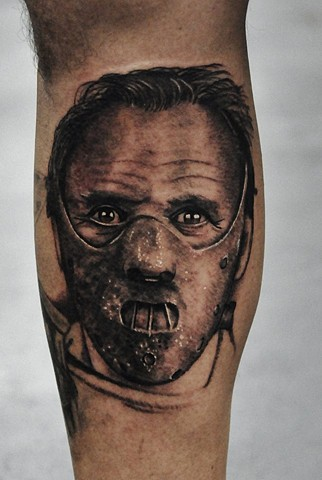 Hannibal tattoo by Trent Valleau