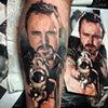 Breaking Bad portrait - Tattoo by Trent Valleau