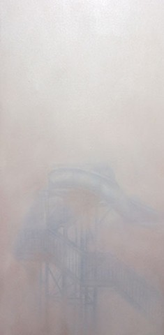 Waterslide in the Fog