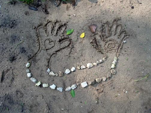 Nature Art Healing Hands