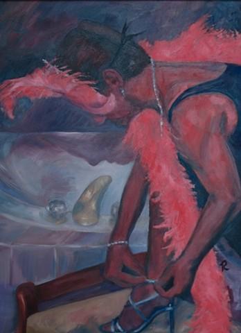 """""""Private Dancer"""" - Self Portrait"""